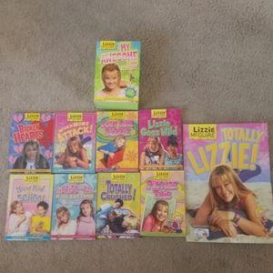 Lizzie McGuire 8 Book Collection
